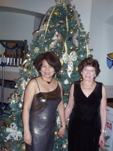 Esther & I at 2008 Holiday Party