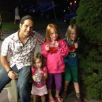 darrin and the kids in Cape Cod